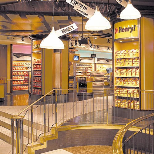 HERSHEY'S CHOCOLATE WORLD Niagara Falls Interior